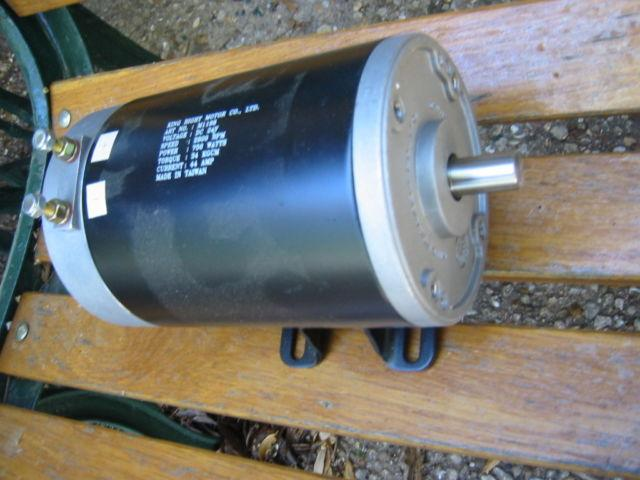 DC Motor 24V, 750 Watts 5/8ths Shaft - $95 OBO