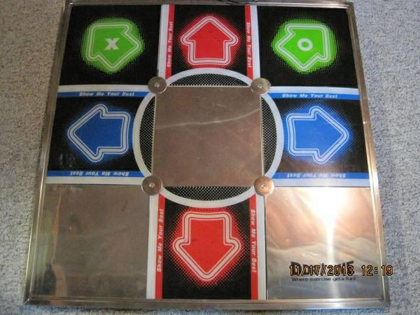 Ddr Dance Dance Revolution Metal Tournament Dance Pad