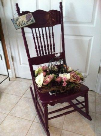 Decorative planter chairs - $25 (Harrisburg)