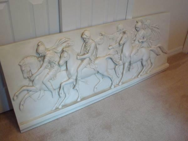 Decorative Wall Relief - Roman Style