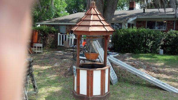 Decorative Yard Wishing Well Planter East Milton For