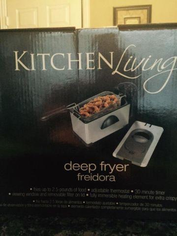 Deep Fryer By Kitchen Living