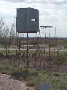 Deer Blind With 2 Stands Laredo And Zapata For Sale In
