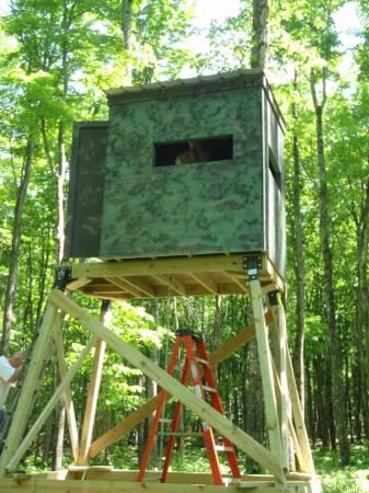 Deer Blinds 4x4 5x5 And 5x6 Starting At For Sale In