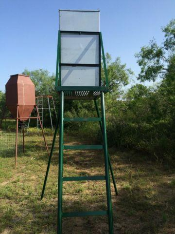 Deer Feeder with ladder & porch