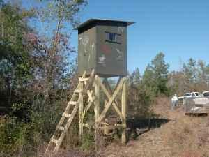 Elevated Shooting House Plans http://pamminv.com/deer-hunting-shooting-house-plans/