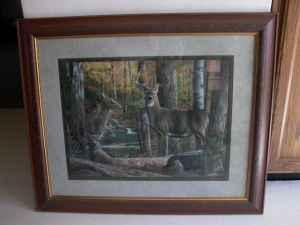 deer picture home interiors janesville for sale in homco 1984 home interiors set of 3 deer family buck doe