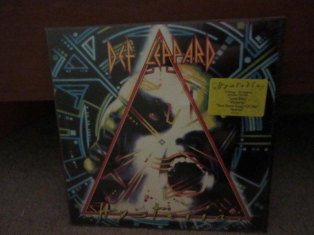 Def Leppard Hysteria original lp from 1987 Sealed