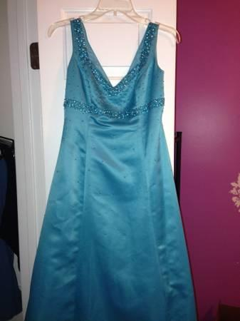 Delaru Boutique Blue Prom Dress For Sale In Wake Forest North