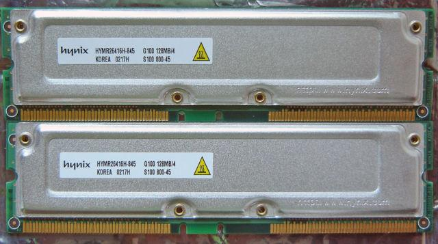 Dell Dimension 8100 8200 8250 256 MB (2x128mb) Memory