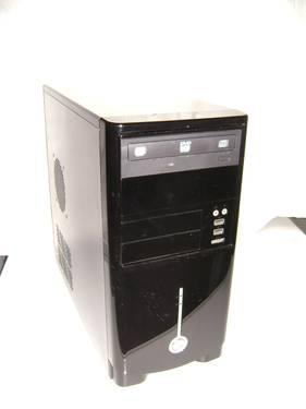 Dell Dimension 8200 black and gray mid-tower case
