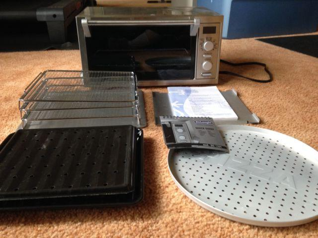 Delonghi Digital Convection Toaster Oven With Dehydration