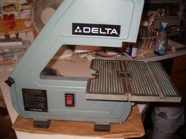 DELTA 10 inch Bench Band saw Cat No.28-160 needs capacitor and tire