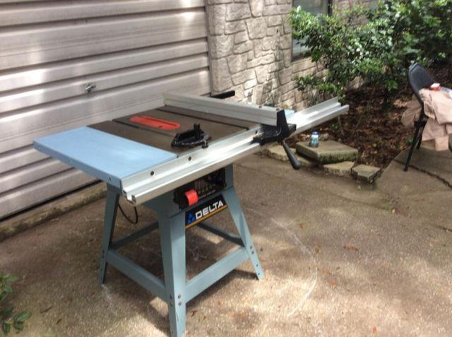 Delta 10 professional table saw model 36 650 for for 10 delta table saw price