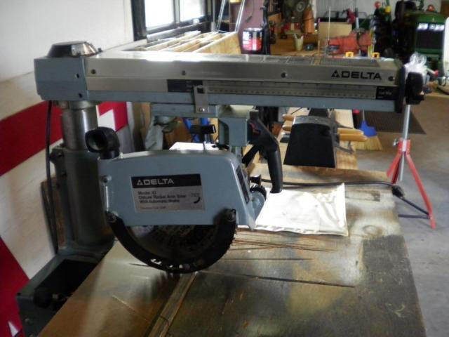 DELTA 10 RADIAL ARM SAW