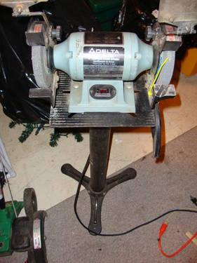 Remarkable Delta 23 660 6 3450Rpm Grinder And Stand For Sale In Fort Dailytribune Chair Design For Home Dailytribuneorg