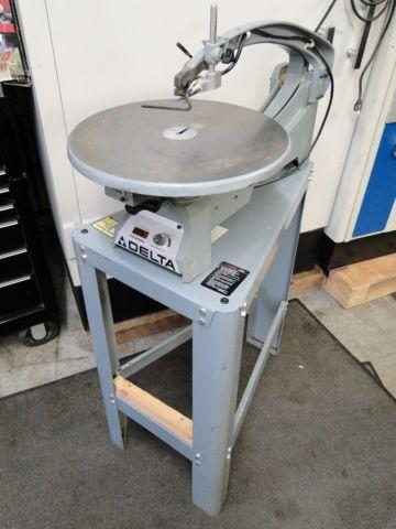 Delta 40-601 18 Wood Scroll Saw with Stand Variable Speed