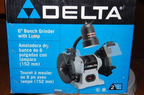 Delta 6 Bench Grinder NEW STILL IN THE BOX GREAT GIFT ITEM