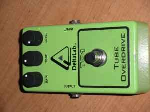 delta lab tube overdrive tube screamer maynardville
