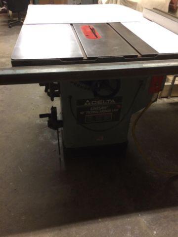DELTA TABLE SAW 3 HP 1PH 220V 52