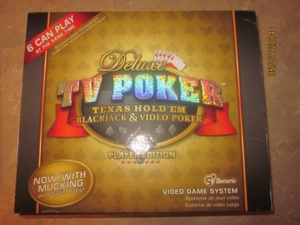 Deluxe TV Poker New in Box - $10