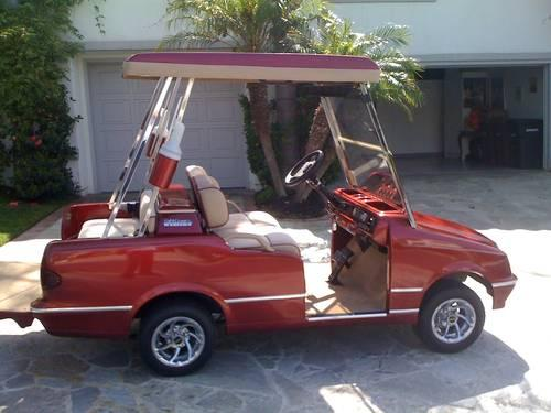 Deluxe Western Elegante Electric Golf Cart For Sale In
