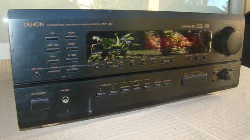 Denon AV-1802 Stereo Receiver (needs repair)