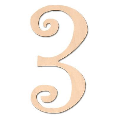 design craft millworks 8 in baltic birch curly wood number 3 for