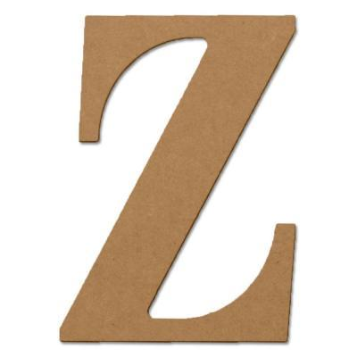 Design Craft MIllworks 8 in. MDF Classic Wood Letter