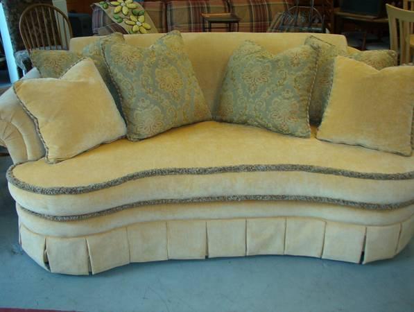 Designer Sofa By Saxon Clark. - $650