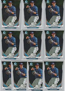 Details about �(10) JOSE PERAZA CHROME 10 Card Lot -