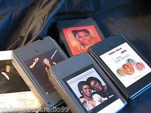 Details about 5 8-TRACK TAPES, Vintage INK SPOTS, MATHIS, NATALIE COLE, NAT KING COLE DIONNE