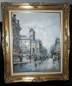 Details about � ANTONIO DeVITY ORIGINAL OIL PAINTING