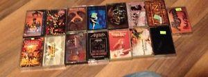 Details about 15 Heavy Metal Hard Rock Cassette Lot- ozzy,twisted,nirvana,guns,megadeth,def