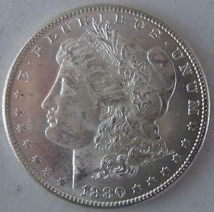 Details about �1880-S Morgan Silver Dollar - Blast