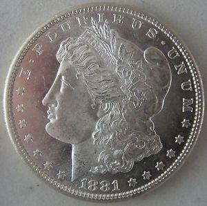 Details about �1881-S Morgan Silver Dollar - Blast