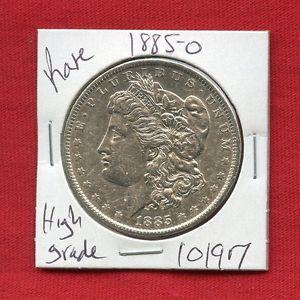 Details about �1885 O MORGAN SILVER DOLLAR #10197 $