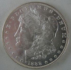 Details about �1888-P Morgan Silver Dollar - Glowing