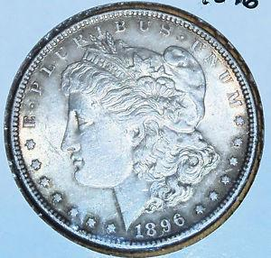 Details about �1896 Higher Grade MORGAN SILVER DOLLAR
