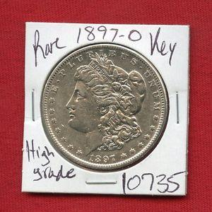 Details about �1897 O MORGAN SILVER DOLLAR #10735 HIGH