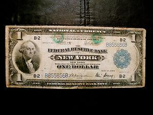 Details about �1914 $1 FEDERAL RESERVE BANK NOTE NEW
