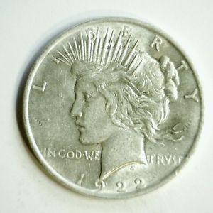 Details about �1922 P Peace Silver Dollar