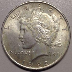Details about �1922 Silver Peace Dollar