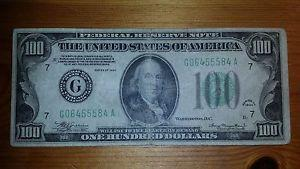 Details about �1934 $100 One Hundred Dollar Bill
