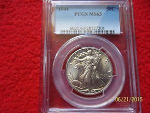 Details about �1944 Walking Liberty Half Dollar PCGS MS