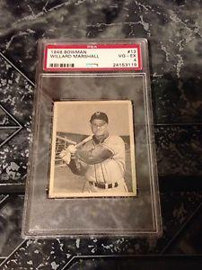 Details about �1948 Bowman Willard Marshall #13