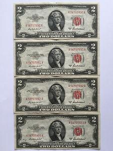 Details about �1953-A $2 TWO DOLLARS UNITED STATES