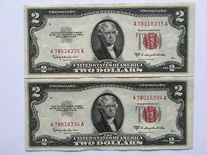 Details about �1953-C $2 TWO DOLLARS UNITED STATES