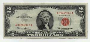 Details about �1963 2 Dollar United States Note