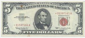 Details about �1963* $5 Five Dollar Note FR-1536*